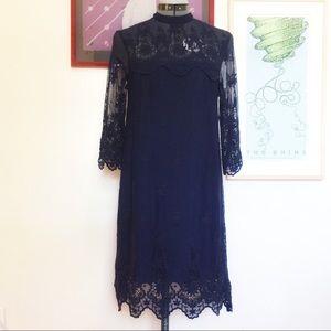 H&M - Long Sleeve Lace Dress